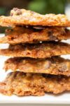 stacked chocolate chip toffee cookies p1