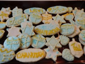 Chanukah Sugar Cookies