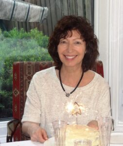 Cheryl, co-author and mom