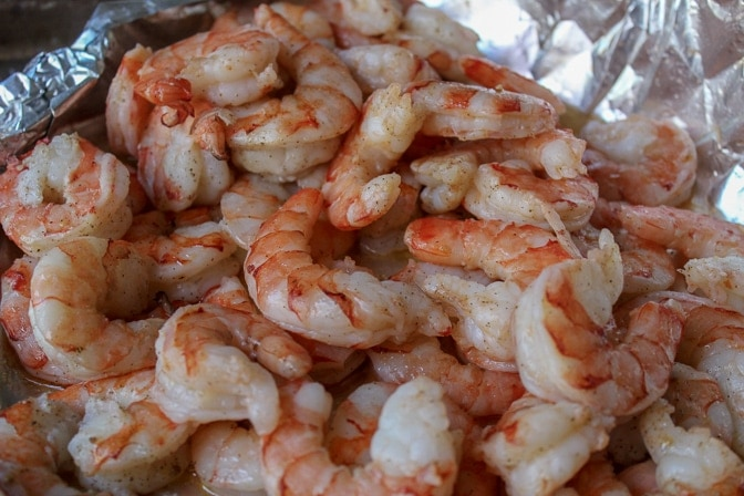 roasted shrimp for Lemon Pasta With Shrimp