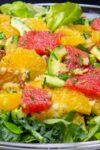 citrus salad on platter p