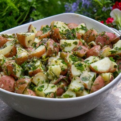 Easy Herb Potato Salad Recipe