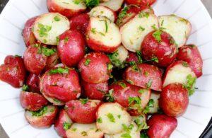 Herb-lemon potato salad