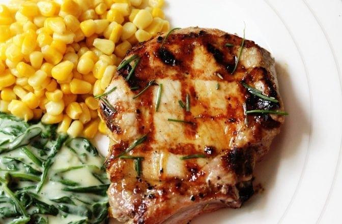 Glazed Pork Chop