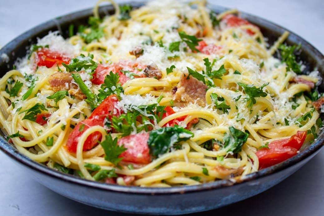 Summer Vegetarian Pasta Meals (in 30 minutes)