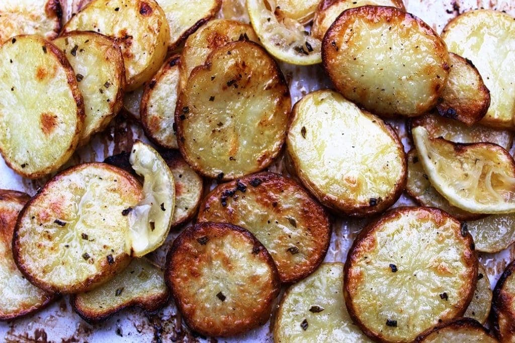 Roasted Lemon-Rosemary Potatoes