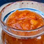 Savory Peach Sauce