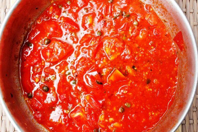 Fresh Tomato Saute