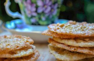 Crispy Buttery Lace Cookies
