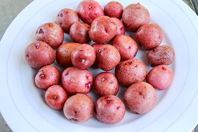 baby red potatoes