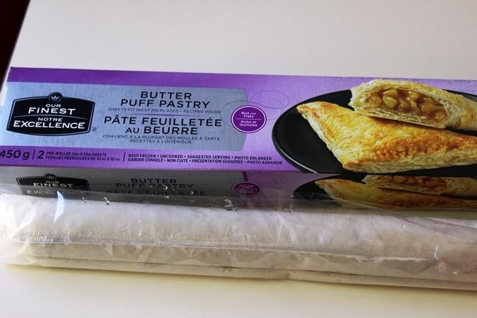 frozen puff pastry