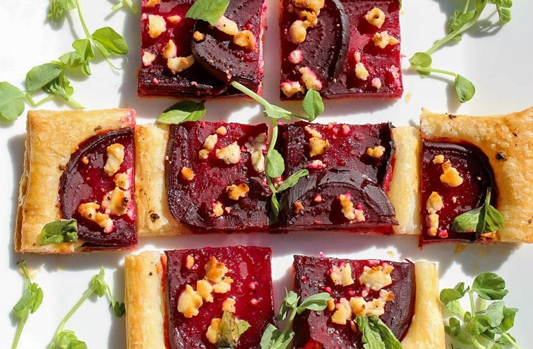 Beet and Goat Cheese Appetizer