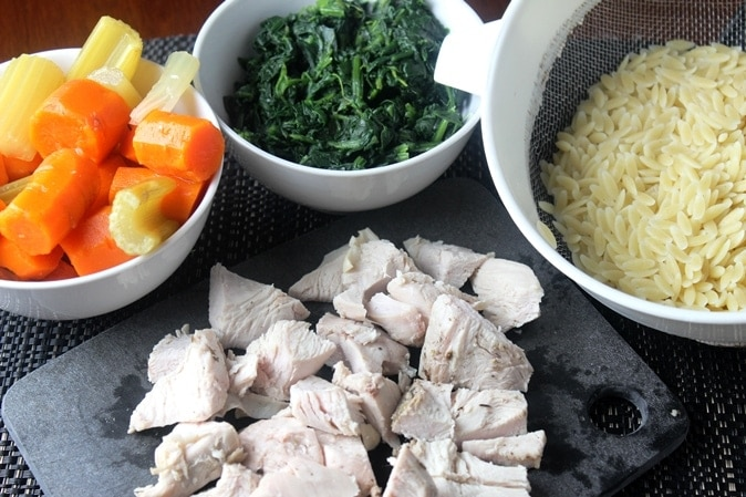 Turkey Soup ingredients