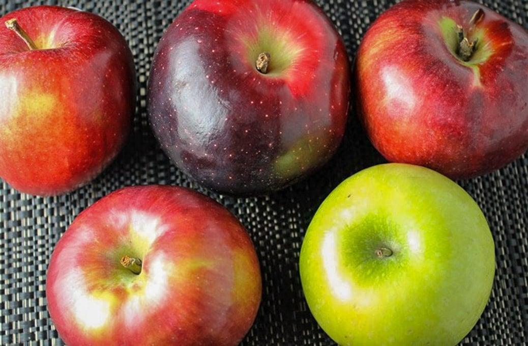 5 apples different varieties