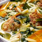 wedding soup in a bowl p1