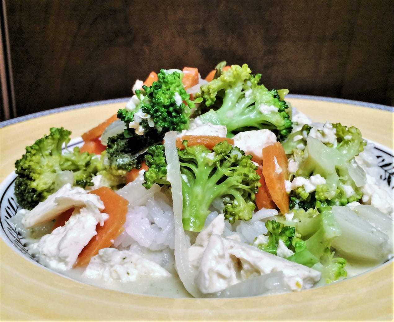 Sousvide Thai Mixed Vegetables Tofu Two Kooks In The Kitchen