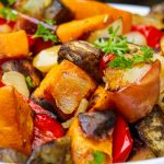 roasted vegetables in bowl p3