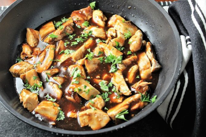 Bourbon Chicken (copycat)