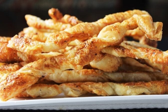Cheese Twist Appetizers
