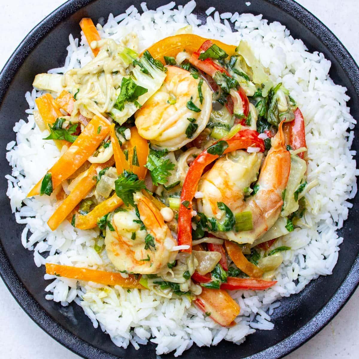 Thai Shrimp Curry