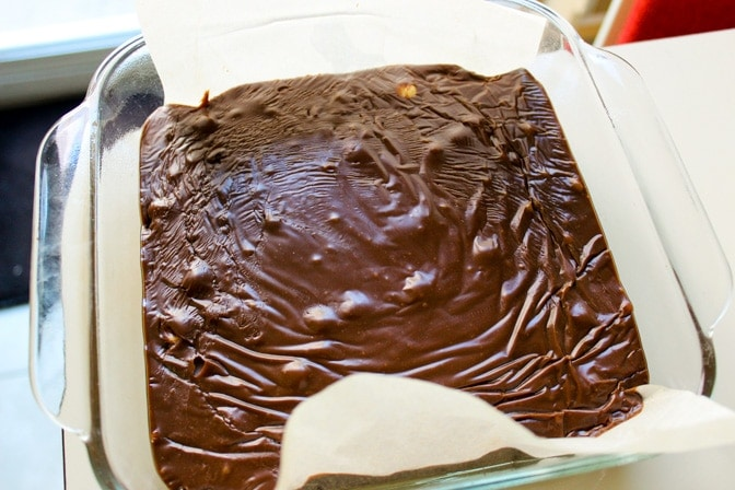 3 minute Creamy Chocolate Fudge