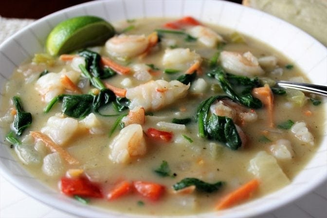 East Meets West Chowder