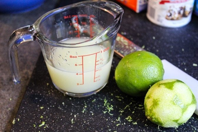 Key Lime Icebox Cups ingredients