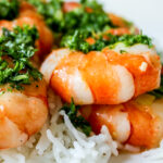 Roasted Shrimp with Gremolata Dressing p1