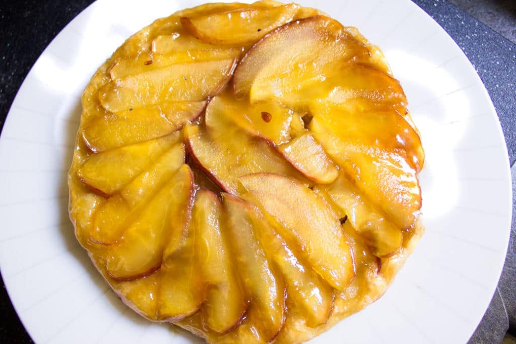 Apple Tarte Tatin with Puff Pastry