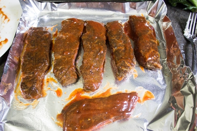 boneless beef short ribs ready to BBQ