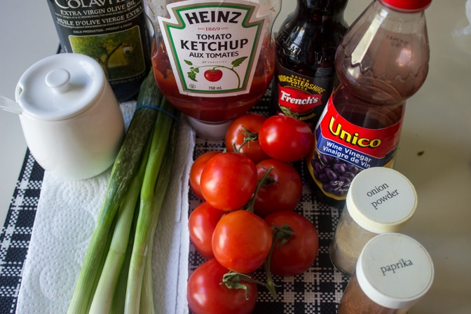 tomatoes, green onions, catalina dressing ingredients