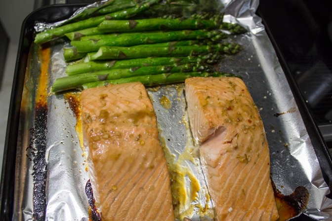Maple Lime Salmon