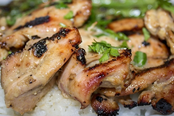 grilled chicken thighs boneless