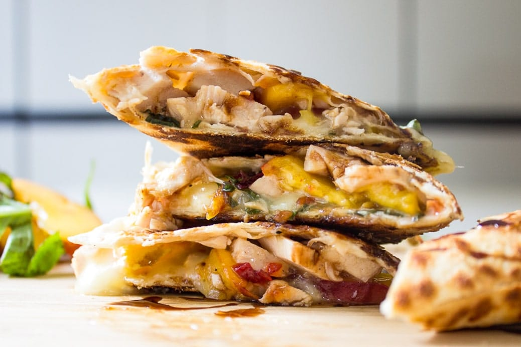 Best Chicken Quesadilla Recipe Two Kooks In The Kitchen