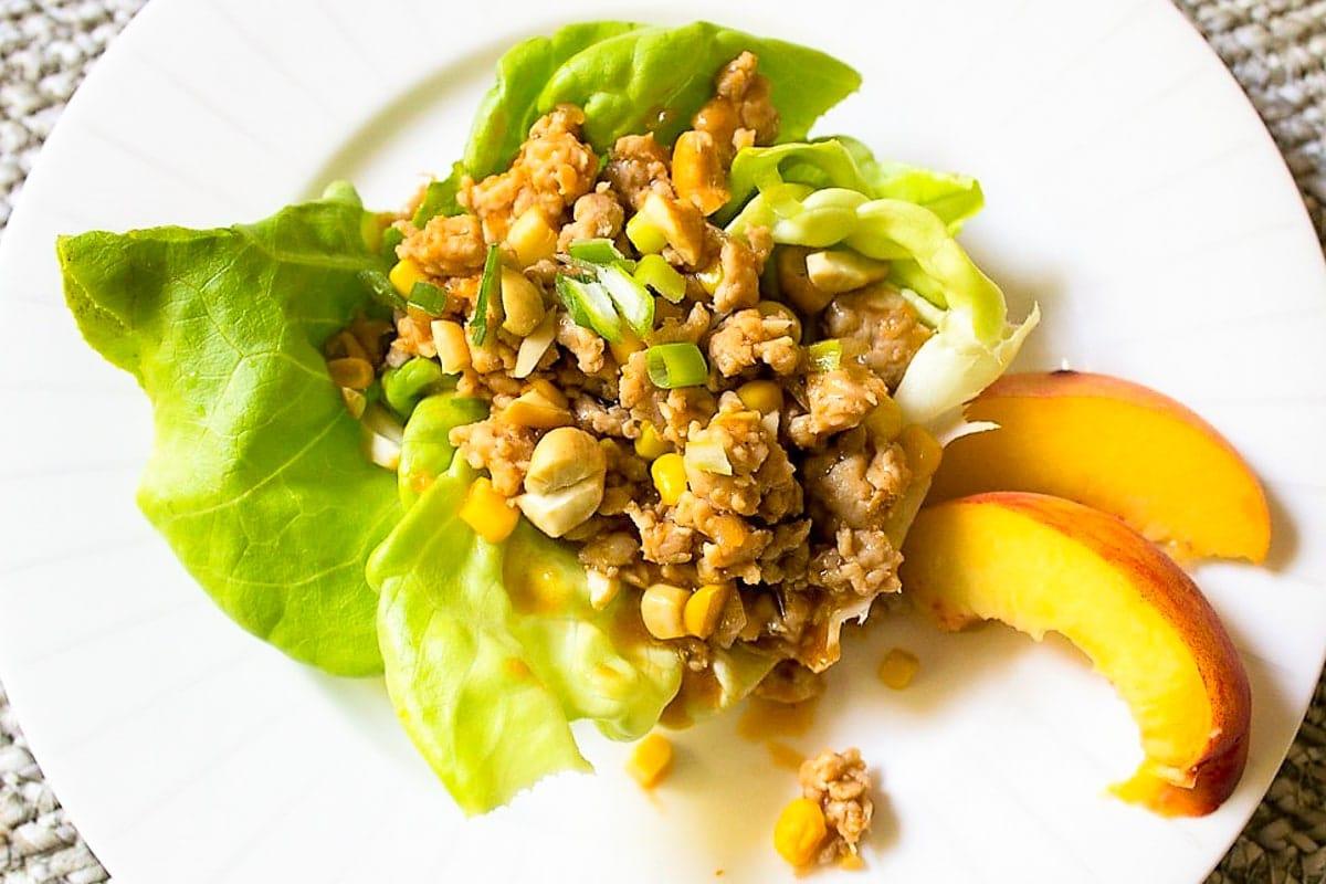 PF Chang's Chicken Lettuce Wraps (simplified copycat)