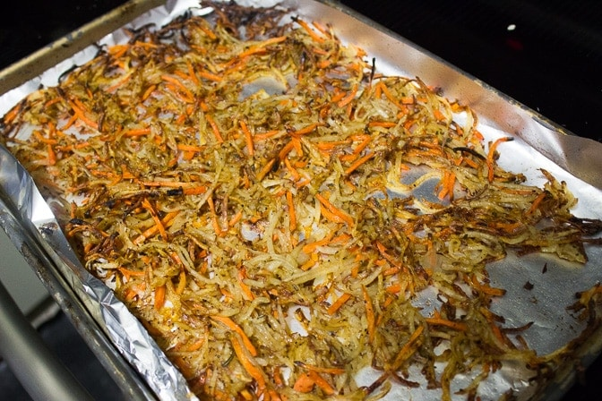 Roasted Shredded Potato Crisps
