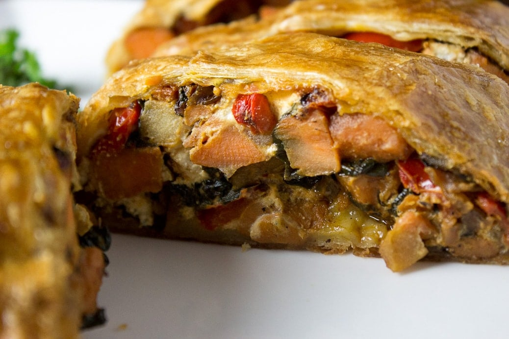 Savory Vegetable Strudel