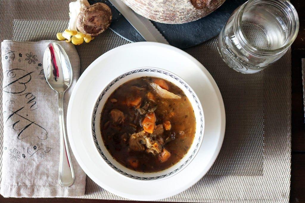 Kendal Hills Mushroom & Veggie Soup