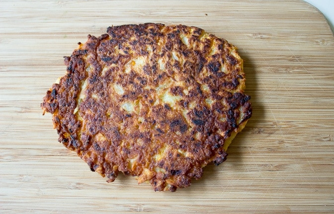 Potato Latkes (two ways)