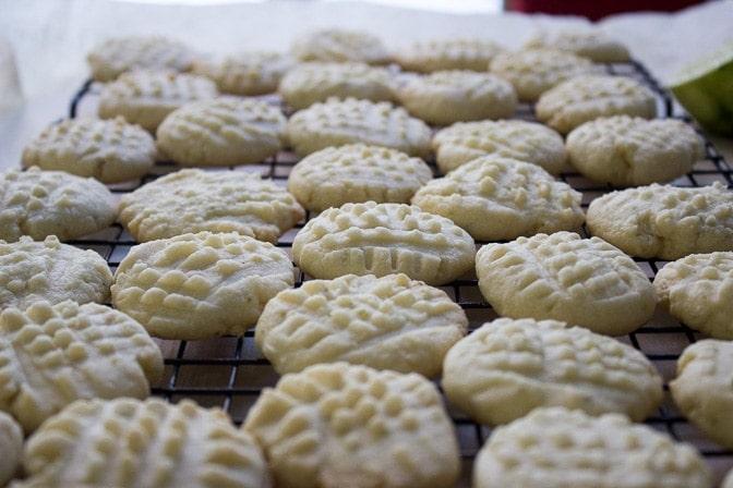 Lime-Glazed Shortbread Cookies (Shortcut)