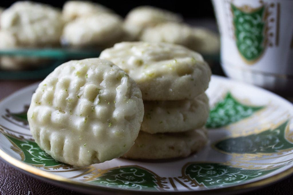 Lime-Glazed Shortbread Cookies (Shortcut). Buttery, flakey,melt in your mouth cookies with a burst of lime and sweetness.