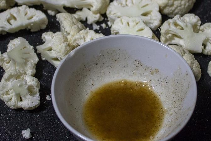 Roasted Cauliflower With Orange-Balsamic Drizzle