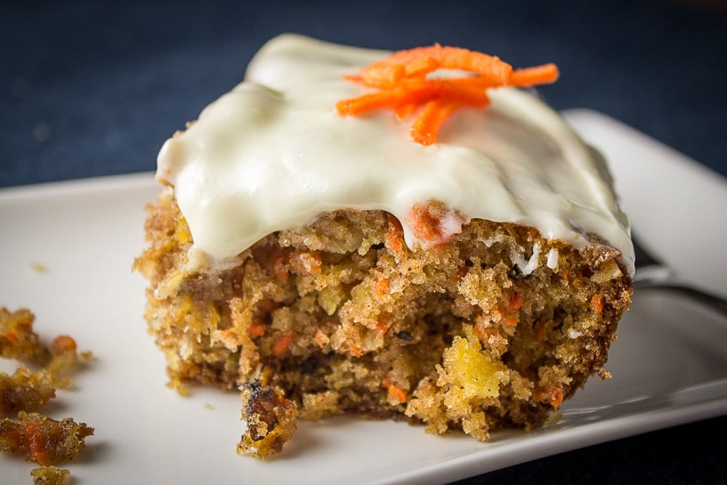 Super Moist Carrot and Pineapple Cake