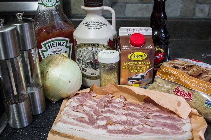 Homemade Baked Beans (Instant Pot) ingredients