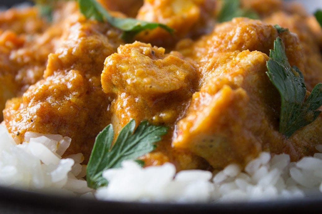 Indian Butter Chicken (Sous Vide or Regular)