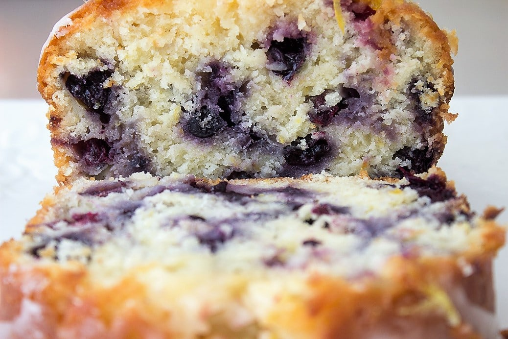 Moist Lemon-Blueberry Loaf. Easily mixed with a spoon, this flavourful loaf is real treat.