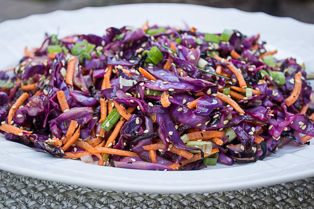 Grilled Coleslaw (no mayo)