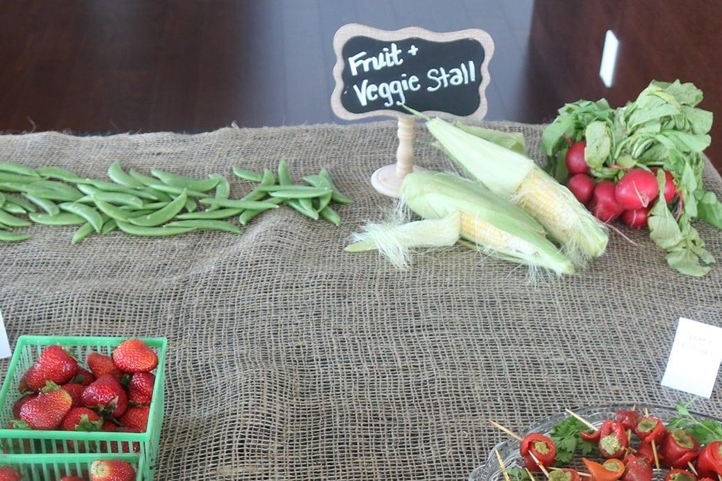 Farmers Market Shower