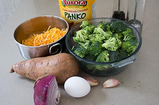Broccoli Cheddar Veggi Burger