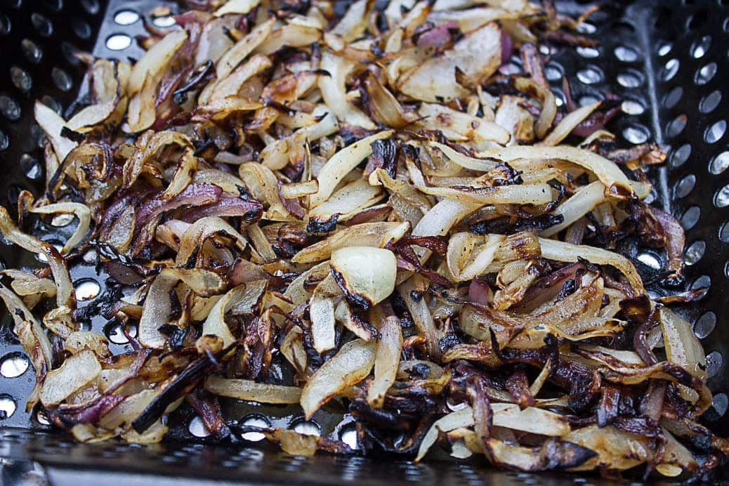 Grilled Charred Onions
